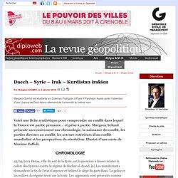 Géopolitique de Daech. Un dossier Diploweb.com - Moyen-Orient