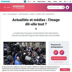 Géopolitique et FLE : parler du rôle des médias en cours de français - TV5MONDE