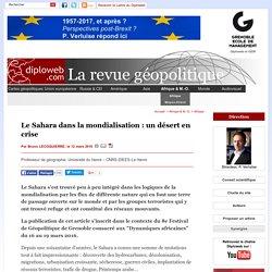 Géopolitique du Sahara dans la mondialisation. B. Lecoquierre