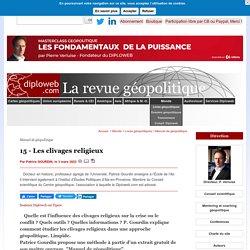 P. Gourdin. Manuel de géopolitique. Les clivages religieux