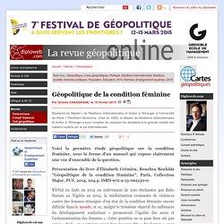 """Livre """"Géopolitique de la condition féminine"""", É. Crémieu,"""