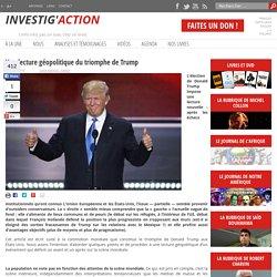 Une lecture géopolitique du triomphe de Trump