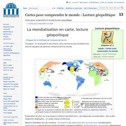 Cartes pour comprendre le monde/Lecture géopolitique — Wikiversité