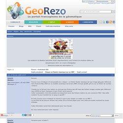 Forum GeoRezo / Draper un Raster classique sur un MNT