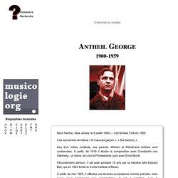 George Antheil (1900-1959)