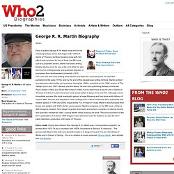 George R. R. Martin Biography from Who2.com
