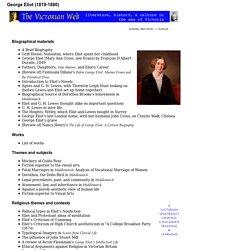 George Eliot (1819-1880)