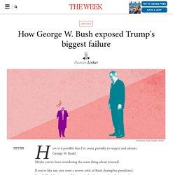 How George W. Bush exposed Trump's biggest failure