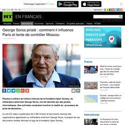 Un groupe d'activistes américains a piraté plus de 2 500 fichiers du milliardaire George Soros