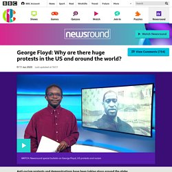 George Floyd: Why are there huge protests in the US? - CBBC Newsround