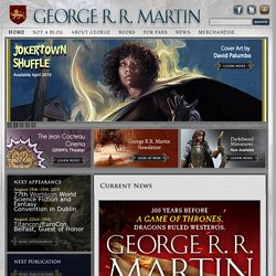 George R. R. Martin's Official Website