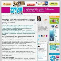 George Sand : une femme engagée
