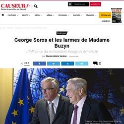 George Soros et les larmes de Madame Buzyn