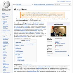 György Schwartz alias George Soros