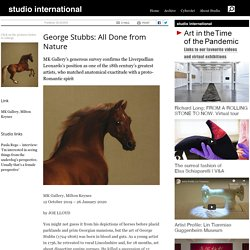 George Stubbs: All Done from Nature