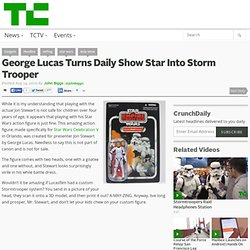 George Lucas Turns Daily Show Star Into Storm Trooper