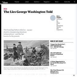 George Washington Was a Master of Deception