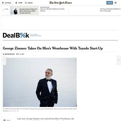 George Zimmer Takes On Men's Wearhouse With Tuxedo Start-Up
