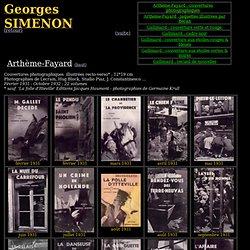 Georges Simenon - Bibliographie - Achevé d'imprimer