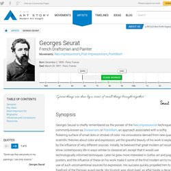 Georges Seurat Biography, Art, and Analysis of Works