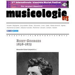 Georges Bizet (1838-1875) - musicologie.org