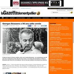 Georges Brassens a 90 ans cette année