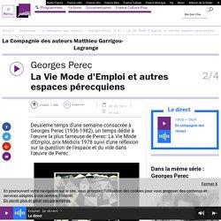Georges Perec (2/4) : La Vie Mode d'Emploi et autres espaces pérecquiens