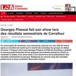Georges Plassat fait son show lors des...