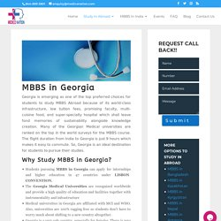 MBBS in georgia for indian student