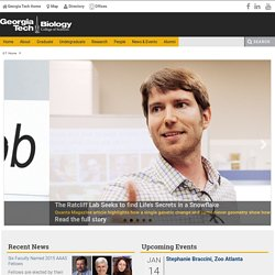 Georgia Tech :: Biology