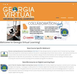 Georgia Virtual Learning > Home