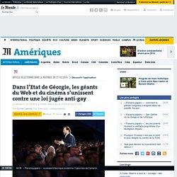 Dans l'Etat de Géorgie, les géants du Web et du cinéma s'unissent contre une loi jugée anti-gay