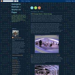 Works on Paper: Design Miami / Miami Design