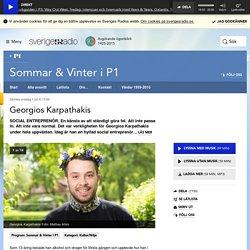 Georgios Karpathakis 1 juli kl 13:00 - Sommar & Vinter i P1
