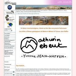 Géosciences Rennes - UMR6118 - Le décor de l'Institut de Géologie de Rennes