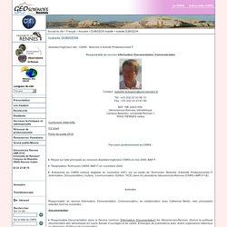 Géosciences Rennes - UMR6118 - Isabelle DUBIGEON