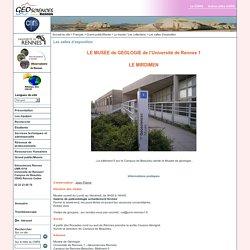 Géosciences Rennes - UMR6118 - Les salles d'exposition