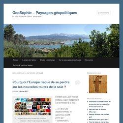 GeoSophie – Paysages géopolitiques