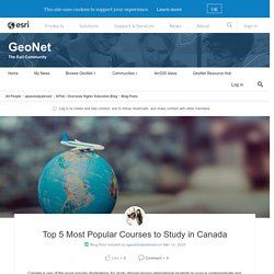 Top 5 Most Popular Courses to Study in Canada