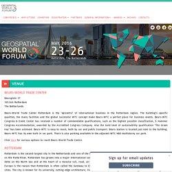 Geospatial World Forum 2016 - Venue Details