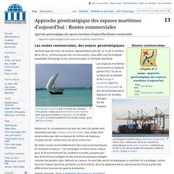 flux commerciaux maritimes