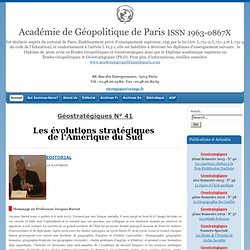 Academie de Geopolitique de Paris