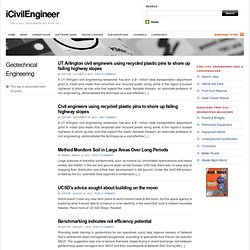 The Civil Engineering Portal - Geotechnical Engineering