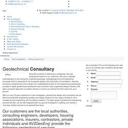 Geotechnical Site Investigation Essex