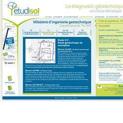 Etude G2 - Rapport géotechnique d'avant projet - Obligatoire