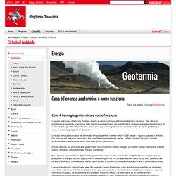 Cosa è l'energia geotermica e come funziona - Energia - Ambiente - Cittadini