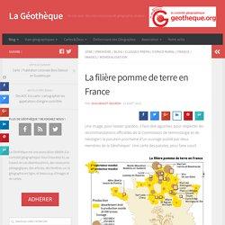 La Géothèque : La filière pomme de terre en France
