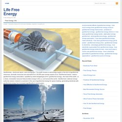 Geothermal Energy Examples