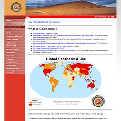 What is Geothermal? - Geothermal Resources Council