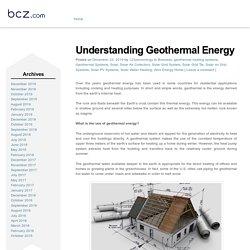 Geothermal Packages » Understanding Geothermal Energy